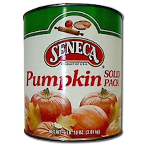 Seneca Solid Pack Pumpkin - no.10 can, 6 cans per case by Seneca Foods Corporation
