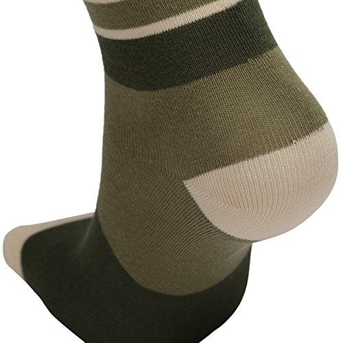 Big Boys Cotton Seamless Socks Crew Atheletic Sport Socks for Kids 6 Pack 10T/11T/12T/13T by HowJoJo (Image #6)