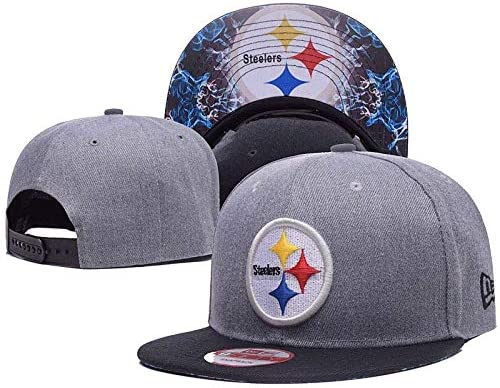 Generic Brands NFL Logo Gray Color Baseball Hat Adjustable Unisex Fashion Baseball Cap