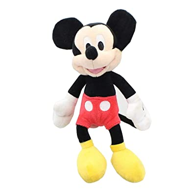 "Disney Mickey and the Roadster Racers Classic Bean Plush - 9-11"" Mickey Mouse: Toys & Games"