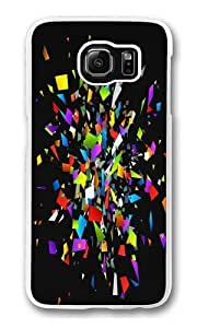 Broken Into Colors Custom Samsung Galaxy S6/Samsung S6 Case Cover Polycarbonate Transparent