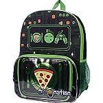 Kids Emoji Emojination Pizza Graphic Backpack & Lunch Tote Set