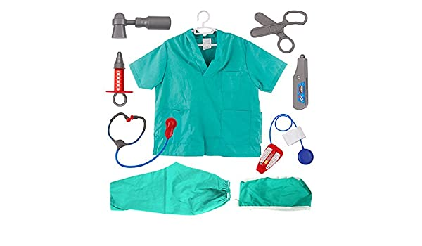 TopTie Doctor Nurse Role Play Dress UpTrajes de Cirujano para niño ...
