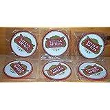 Stella Artois Rubber Bar Coasters Spill Mats set of 6 New