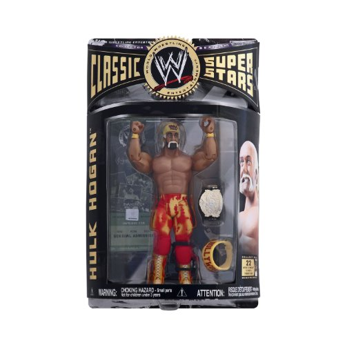 WWE WWF Classic Superstars Series 11 Hollywood Hulk Hogan Wrestling Action Figure