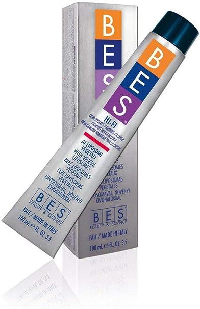 BES, Hi-Fi Color 100 ml 1,99 negro cobalto: Amazon.es: Belleza