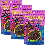 3 PACK Crazy Dog Train-Me! Training Treats Beef Flavor (10.56 oz)