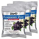 Zand HerbaLozenge Elderberry Zinc | Good-for-You Lozenges for Dry Throats | No Corn Syrup, No Cane Sugar, No Colors | 15 Lozenge, 3 Bags Review