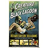 Old Tin Sign Horror Creature From The Black Lagoon Classic Vintage Movie Poster