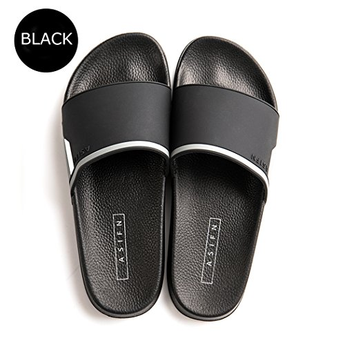 Ranberone Shower Slippers for Men and Women Anti-Slip Bathroom Shoes Unisex Slide Sandals | Indoor/Outdoor | Wide Fit