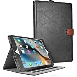 iPad Mini Case, Cambond Smart Stand Cover with Card Slot / Stylus Holder for iPad Mini 1/2/3(Black)