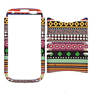 Unlimited Cellular Rocker Snap-On Case for Samsung Galaxy S3 (Tribal Design)