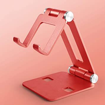 Ranuw - Soporte Plegable de Metal para Smartphone y Tablet: Amazon ...