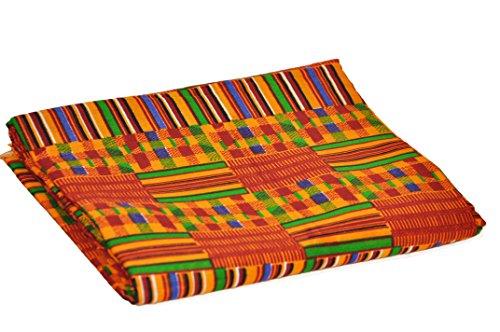 Dupsie's African Kente Print Fabric (6 Yards) ()