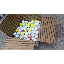 135 AAA or better mixed brand, color, grade golf balls