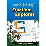 Green Board Games 47057 Logical Learning Fractions Explorer Workbook