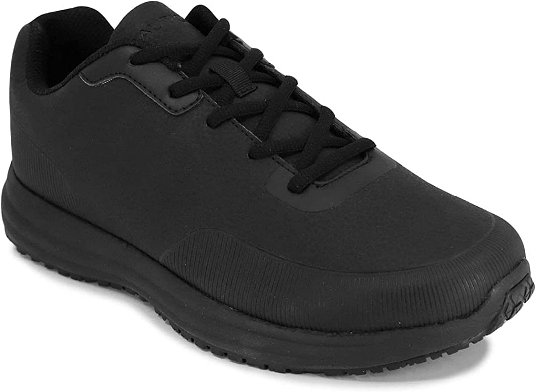 Nautica Men's Non Slip Food Service Work Shoes (Lace-Up/Slip-On)