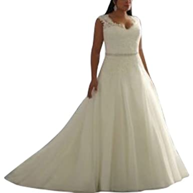 Ball Gown Wedding Dresses for Women Off Shoulder Covered Buttons Lace Bridal Dress vestido de noiva