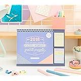 CALENDARIO DA TAVOLO 2018 MR WONDERFUL IL 2018 SARÀ UN ANNO PIENO DI PICCOLI MOMENTI E GRANDI PROGETTI (IT)