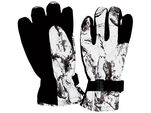 Natural Gear Waterproof Insulated Gloves Snow Camo, 310 XL/2X (310 Natural)