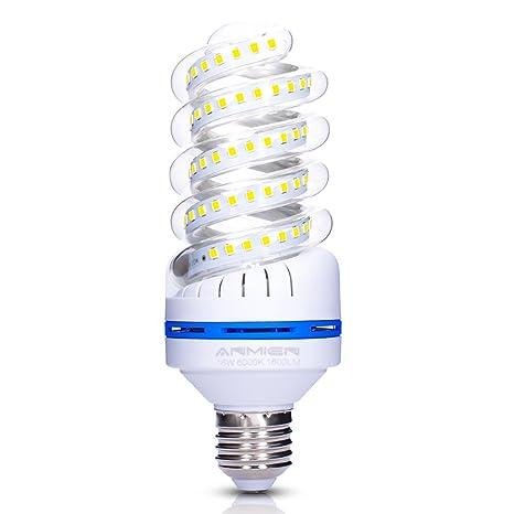 Bombillas LED E27 de 16 W equivalen a una bombilla de 120 W, bombilla diurna