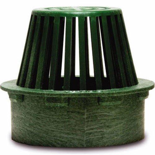 NDS 75G Atrium Grate, 4-Inch, Green