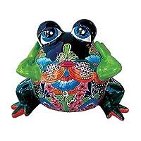 Talavera Pottery Sexy Lady Frog Planter