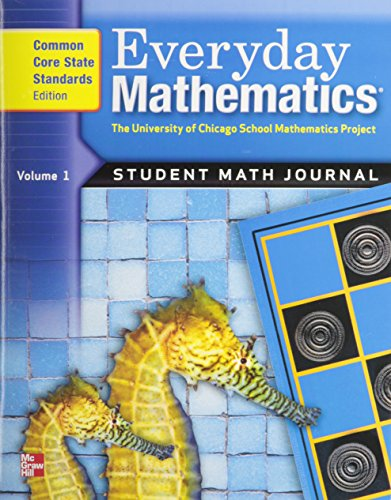 Everyday Mathematics Math Journal, Grade 2,  Vol. 1