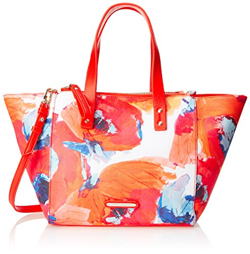 Trina Turk Poolside Satchel Top Handle Bag, Multi Poppy, One ()