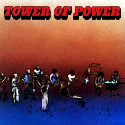 TOWER OF POWER self titled s/t LP Warner Bros WB BS 2681 (1973) original album