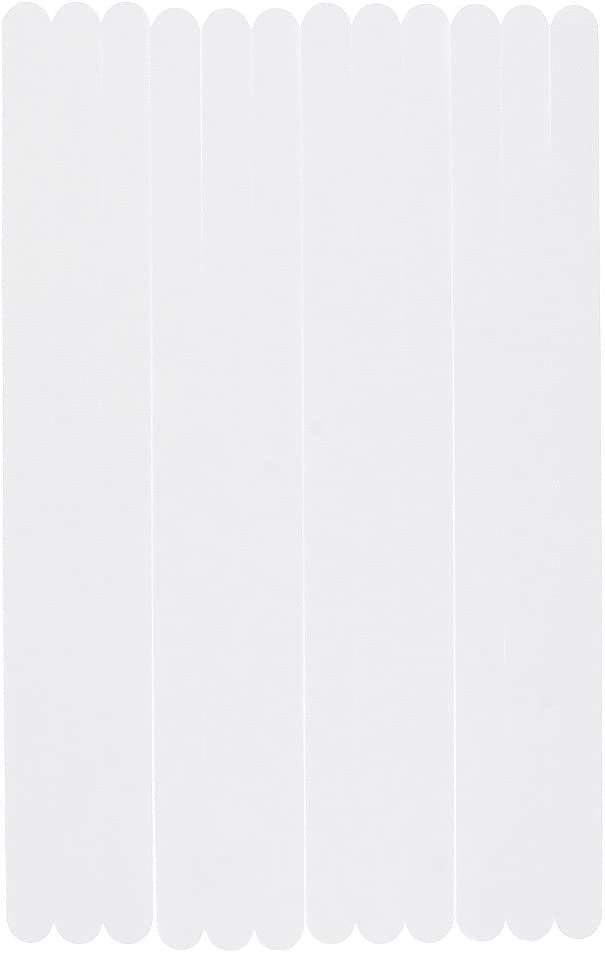 GGG Antideslizantes para Ba/ño,12pcs anti deslizamiento ba/ño pegatinas ducha tira almohadilla piso de seguridad tapete de cinta apliques color Transparente