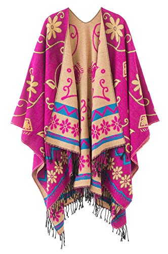 Pull Automne Chale Tartan Hiver Grande Cape Carreaux Foulard Chaud A Vintage Laine Poncho Taille Femme gdnZTUnp