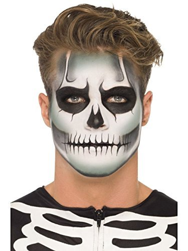 [Uwant Fashion Glow In The Dark Skeleton Make Up Kit Kids Adults Halloween Face Paints by Uwant Fashion] (Skeleton Makeup)