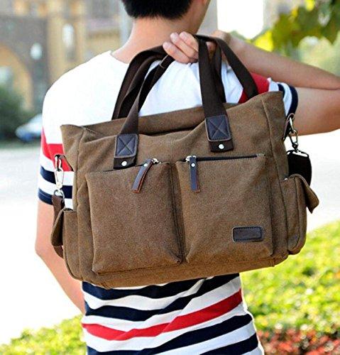 Canvas Canvas Bag Pairs Bb Bag Crusader Nbag Men Messenger Fashion section Cross Bag Casual Bag Travel Shoulder Bag wWqqI7HB