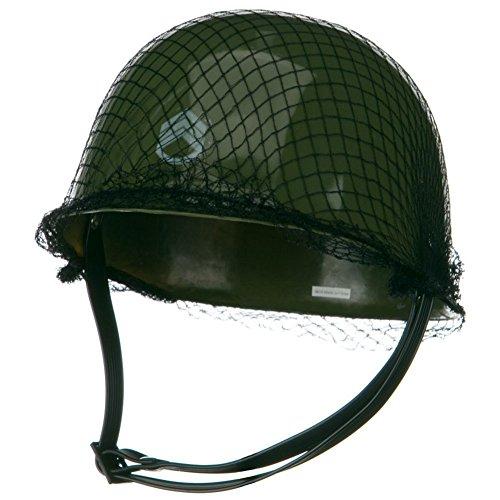 One Child's Plastic Army Helmet Hat ()