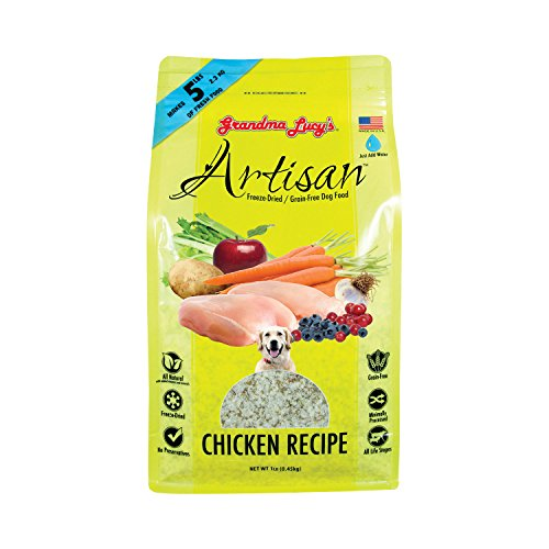 Artisan Freeze Dried Dog Food, Chicken, 1 lb