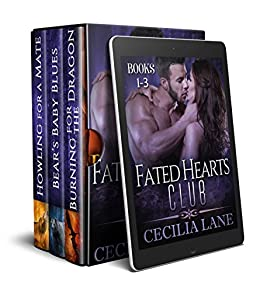 Fated Hearts Club Books 1-3: Shifter Romance Box Set by [Lane, Cecilia]