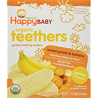 Gentle Teething Wafers by Happy Baby