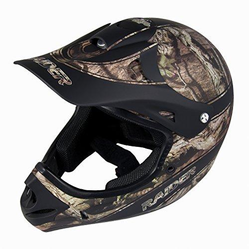 Raider Adult Ambush MX Helmet (Mossy Oak Break Up Infinity, (Raider Atv Helmets)