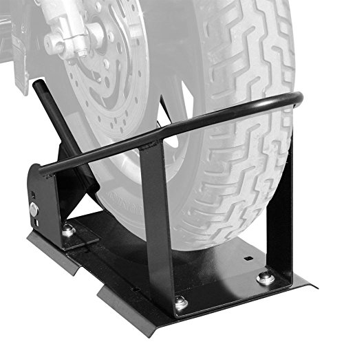 Black Widow Rage Powersports MWC-2900 Wheel Chock (3-Position Self Locking Truck or Trailer Motorcycle)