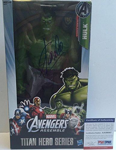 LEGEND!!! Stan Lee MARVEL Signed Avengers THE HULK 12in Action Figure #2 - PSA/DNA Certified