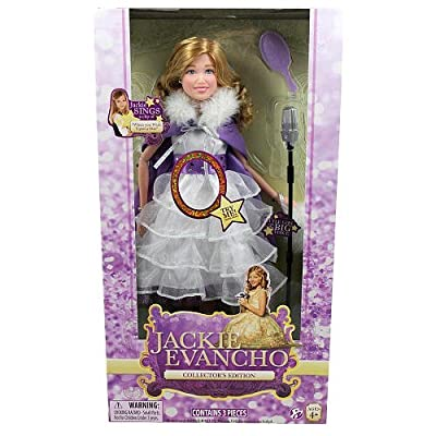 Jackie Evancho 14 inch Singing Collector Doll - 'When You Wish Upon a Star' (Age: 4 years and up): Toys & Games