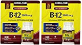 Kirkland Signature B-12 5000 mcg, 300 Tablets (2 Pack)