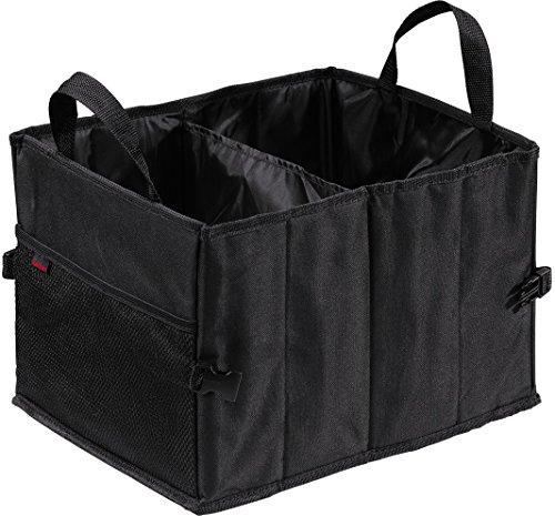 Hama Auto-Kofferraumtasche (Klettbefestigung (37 x 29 x 25 cm) faltbar, klein) schwarz
