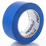 Gaffer Power Painters Tape - Blue Masking Tape 2 inch x 50 Yards | Made in USA | Wide Coverage Tape That Doesn't Ruin Walls | Crisp, Clean Lines | Never Need to Remove Sticky Residue - Peels Off Easy