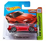 Hot Wheels - HW Workshop 205/250 - '96 Nissan 180SX Type X on Short Card