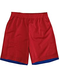 Spiderman Little Boys Red Royal Blue Basketball Shorts 4-7