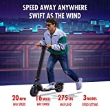 TURBOANT X7 Electric Scooter, Up to 20
