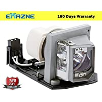 Emazne BL-FP230D Professional Projector Replacement Compatible Lamp With Housing Work For Optoma TH1020 Optoma TW615-3D Optoma TW615-GOV Optoma TX612 Optoma TX615 Optoma TX615-3D Optoma TX615-GOV