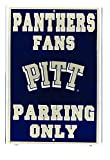 University of Pittsburg Panther Large Parking Sign